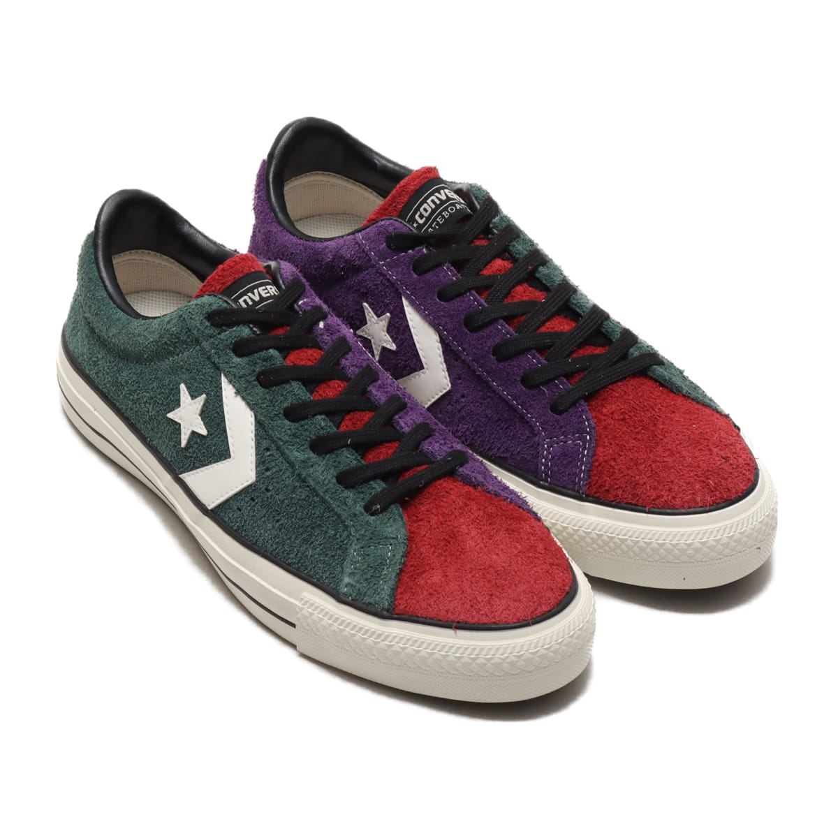 CONVERSE PRORIDE SK OX+ グリーン/レッド/パープル 20FW-I_photo_large
