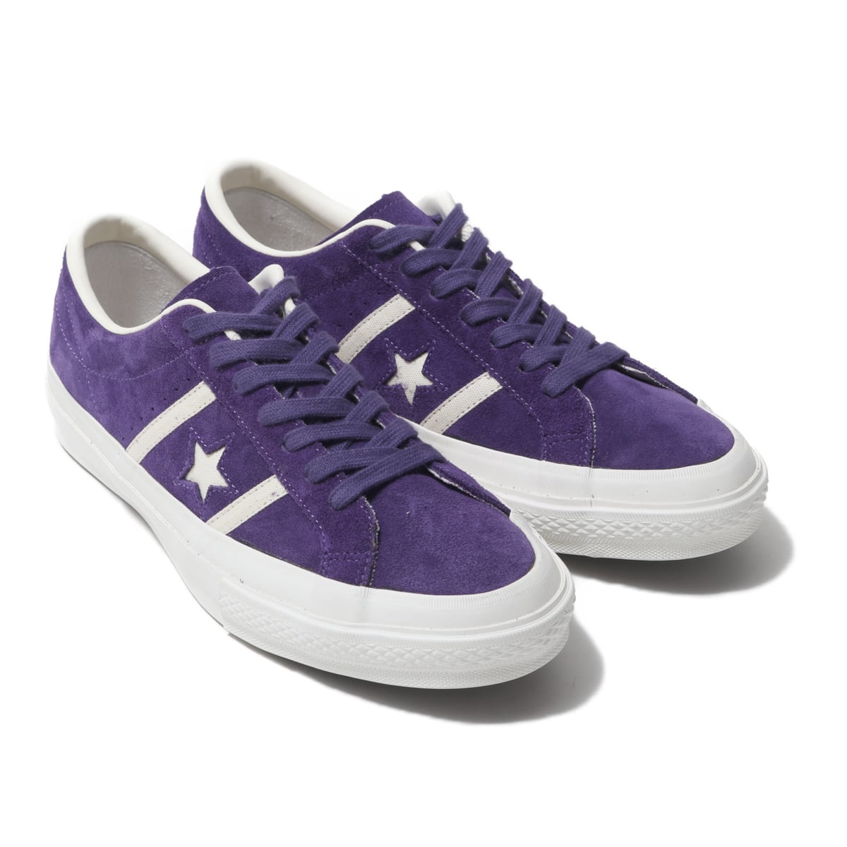 CONVERSE STAR&BARS SUEDE PURPLE 19FA-S_photo_large