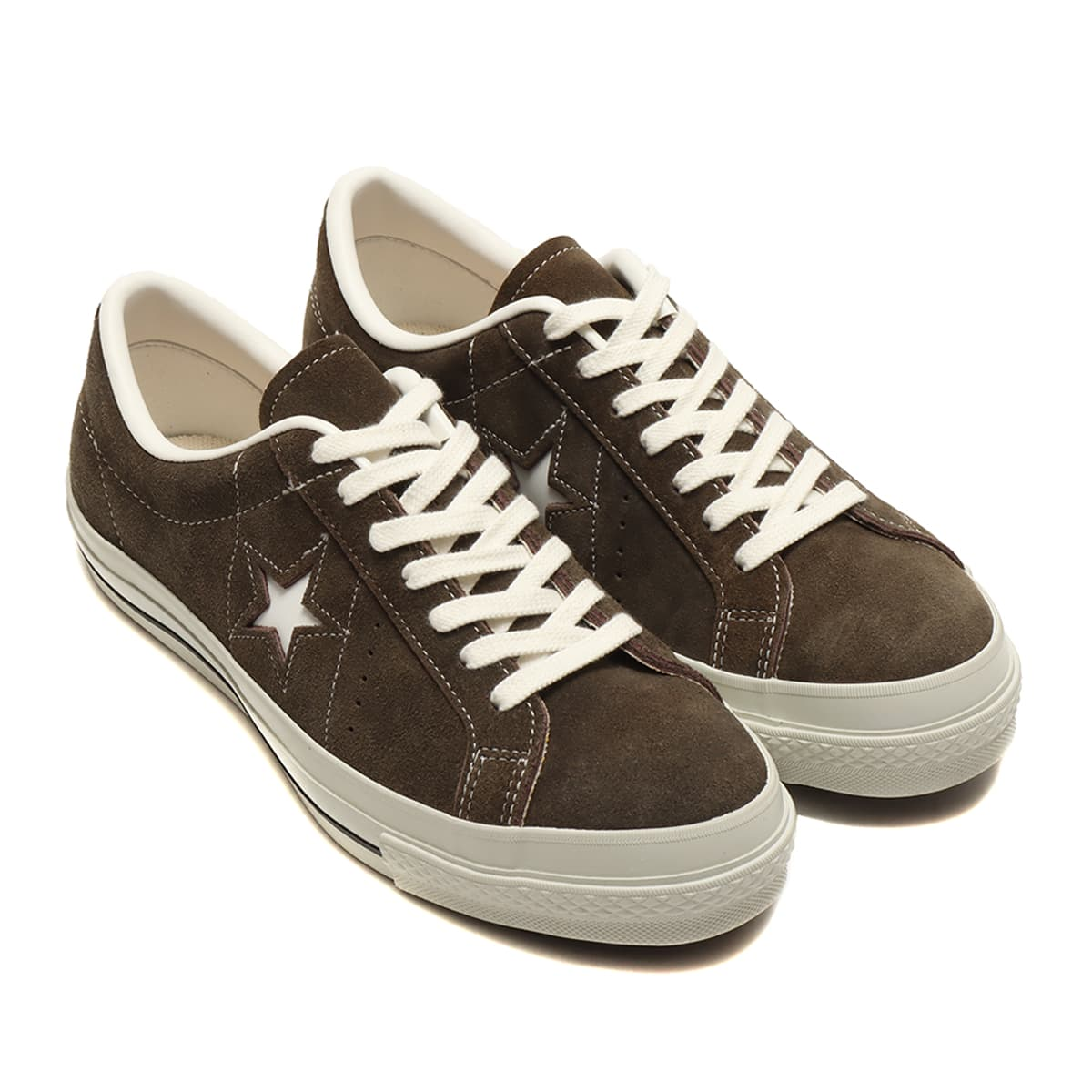 CONVERSE ONE STAR J SUEDE BROWN 21SS-I_photo_large