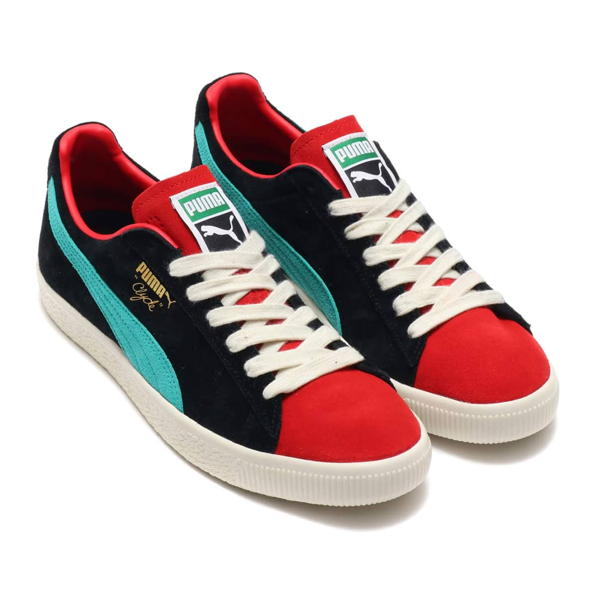 new styles cb1b6 233b3 PUMA CLYDE FROM THE ARCHIVE HIGH RISK RED