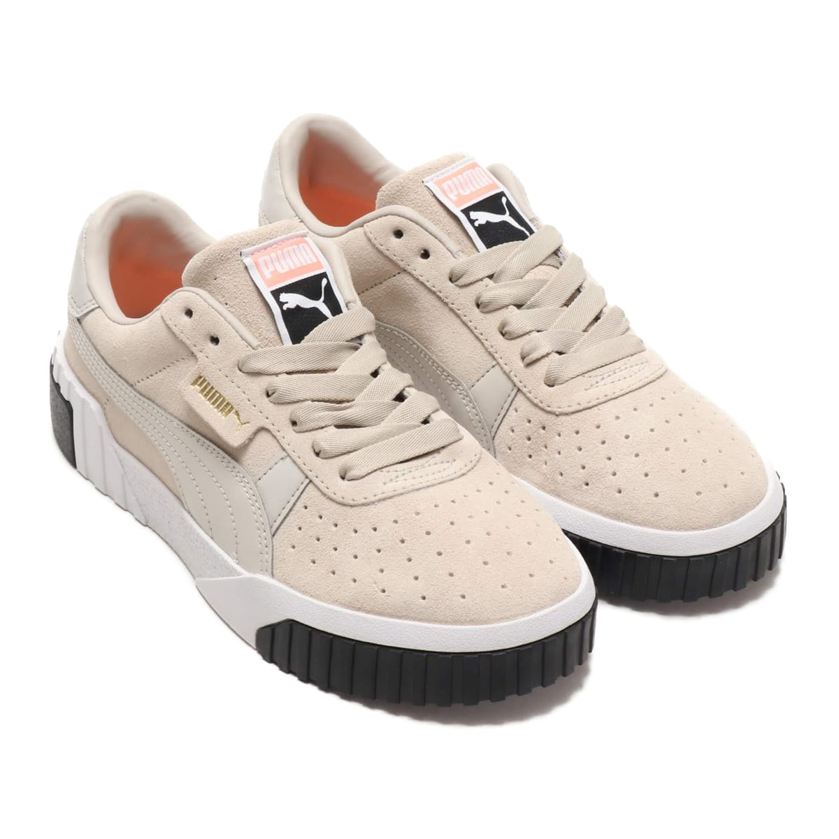PUMA CALI SUEDE WMS  SILVER GRAY-S 19SU-S_photo_large