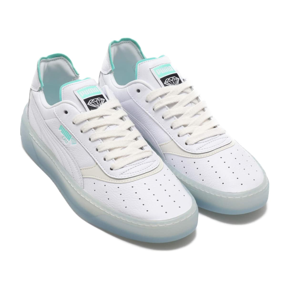 PUMA CALI-0 DIAMOND SUPPLY  PUMA WHITE-PU 19SU-S_photo_large