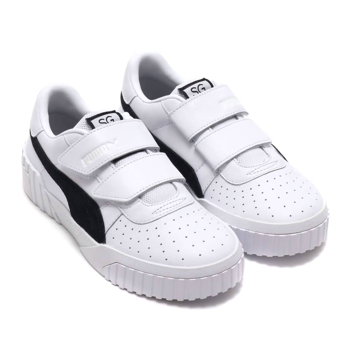 PUMA CALI VELCRO B&W × SG  PUMA WHITE-PU 19SU-S_photo_large