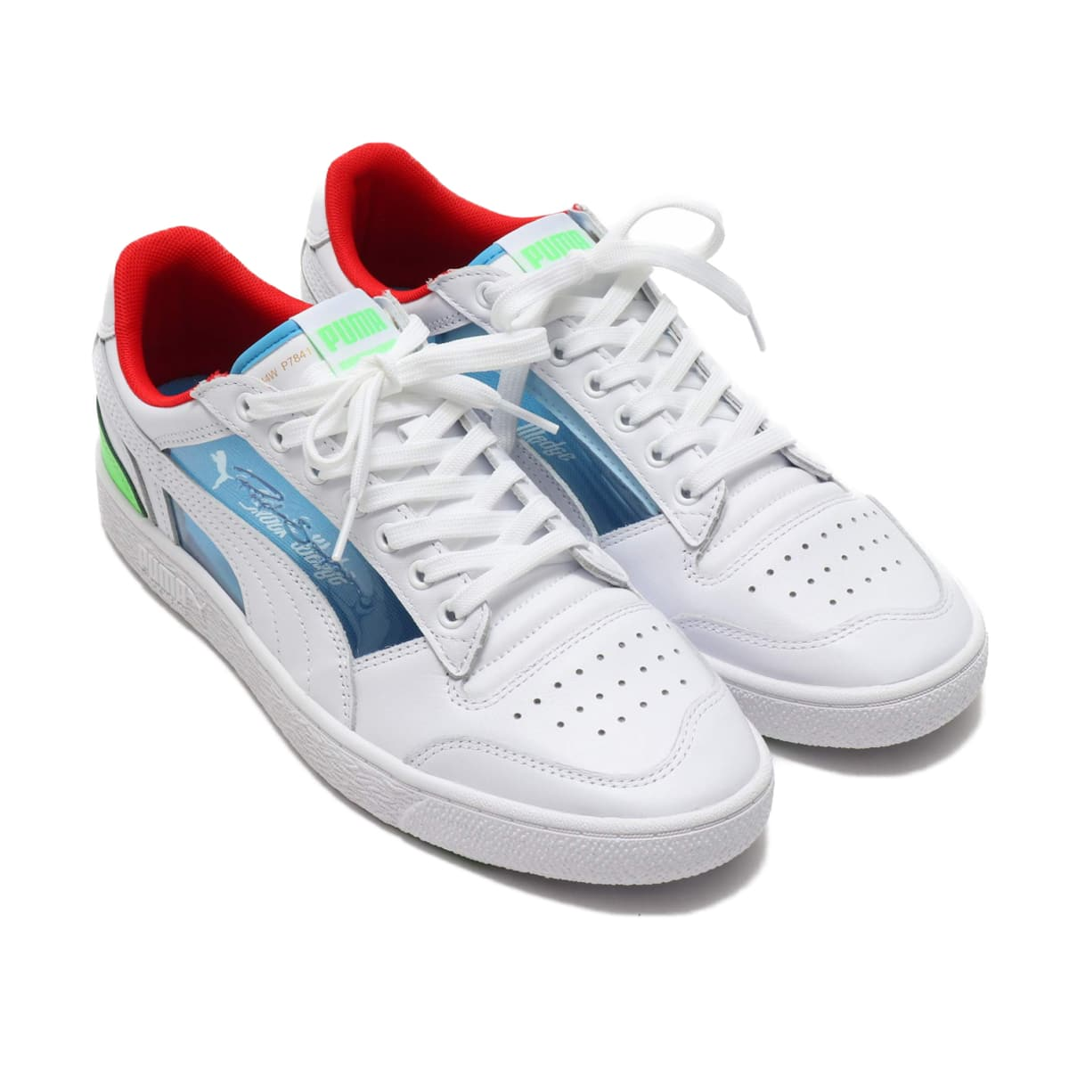 "PUMA Ralph Sampson Lo ""Glass"" PUMA WHITE-ET 20SP-S_photo_large"