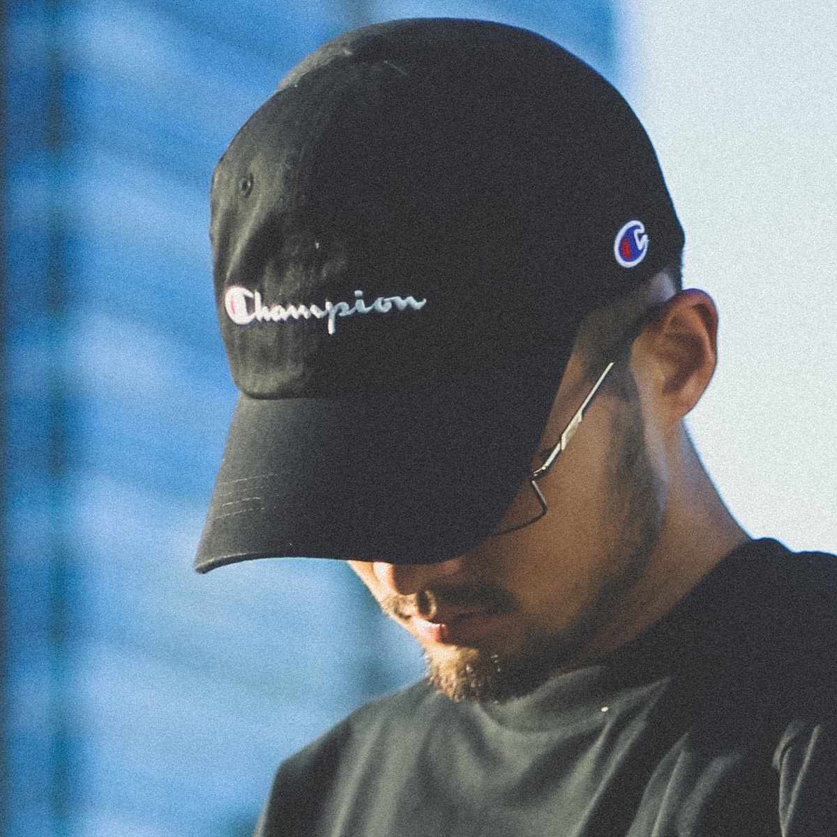 CHAMPION x ATMOS LAB  6 PANEL CAP BLACK 18FW-I_photo_large