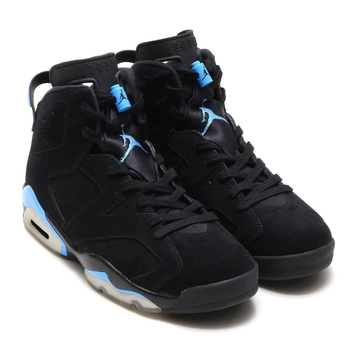 JORDAN BRAND AIR JORDAN 6 RETRO BLACK/UNIVERSITY BLUE_photo_large