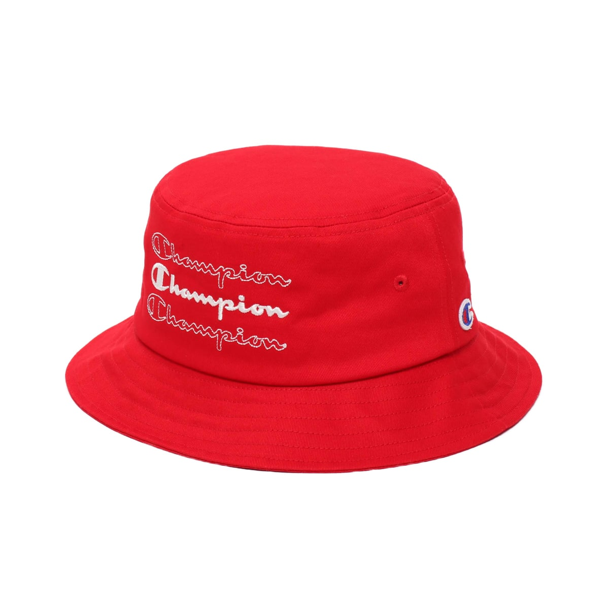 CHAMPION x ATMOS LAB BUCKET HAT RED 19FW-S_photo_large