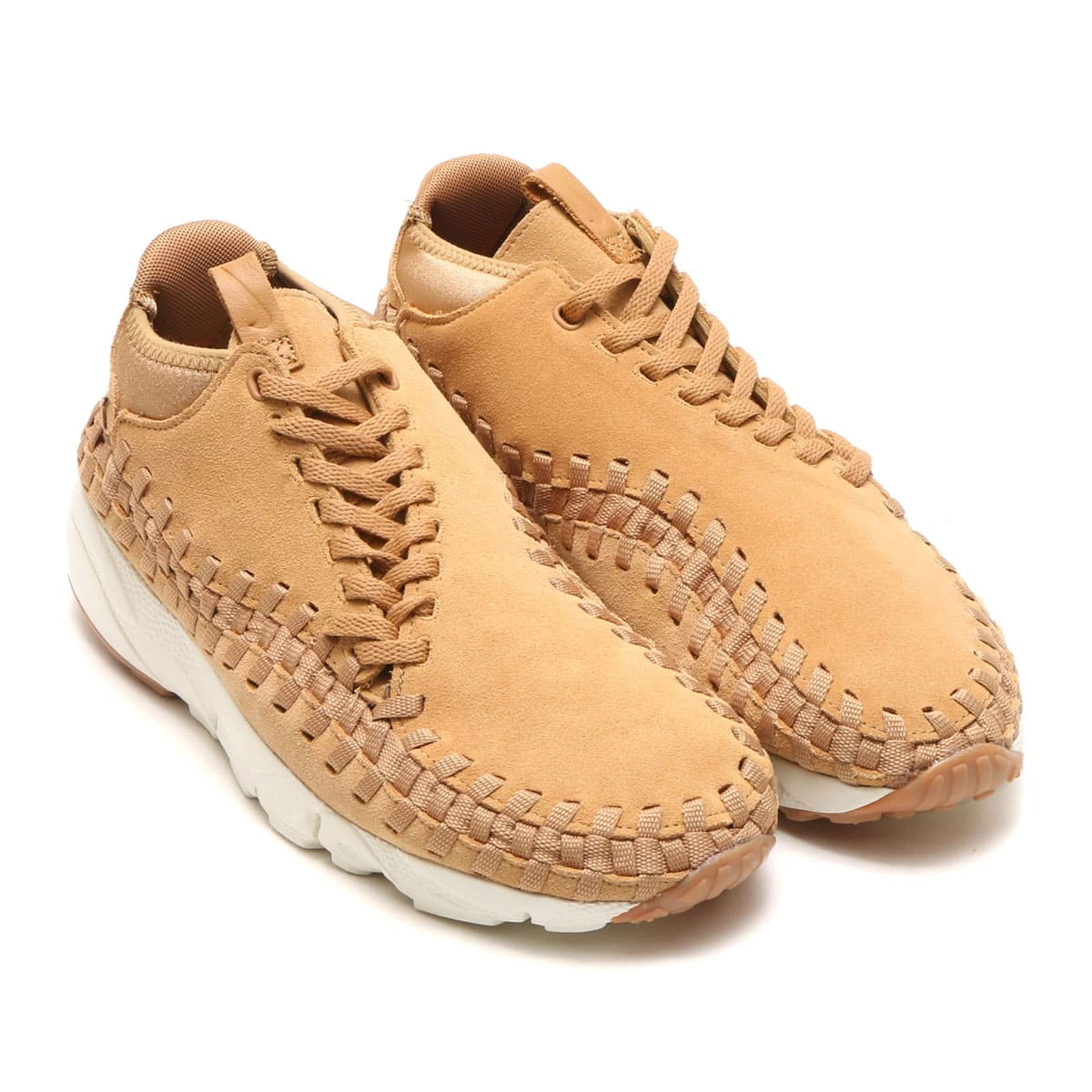 NIKE AIR FOOTSCAPE WOVEN CHUKKA FLAX/FLAX-SAIL-GUM MED BROWN_photo_large