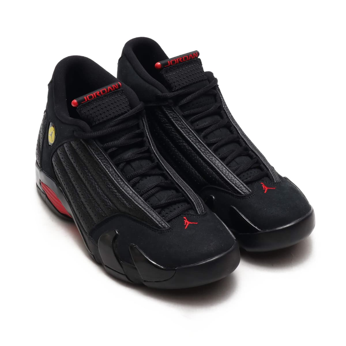 NIKE AIR JORDAN 14 RETRO  BLACK/VARSITY RED-BLACK_photo_large