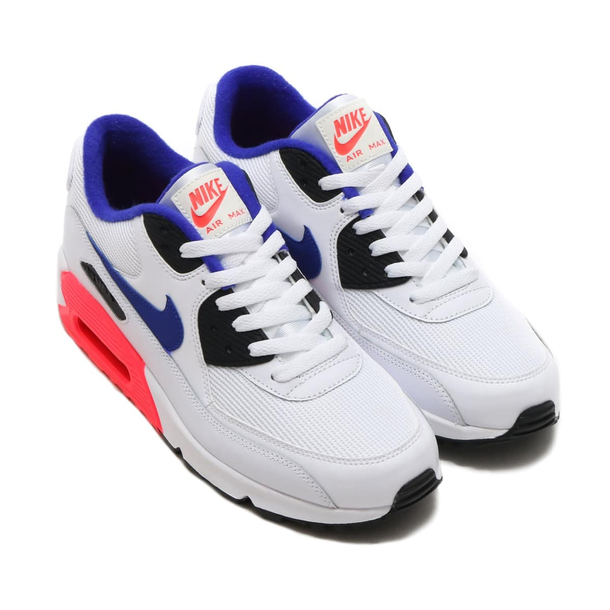 NIKE AIR MAX 90 ESSENTIAL  WHITE/ULTRAMARINE-SOLAR RED-BLACK_photo_large