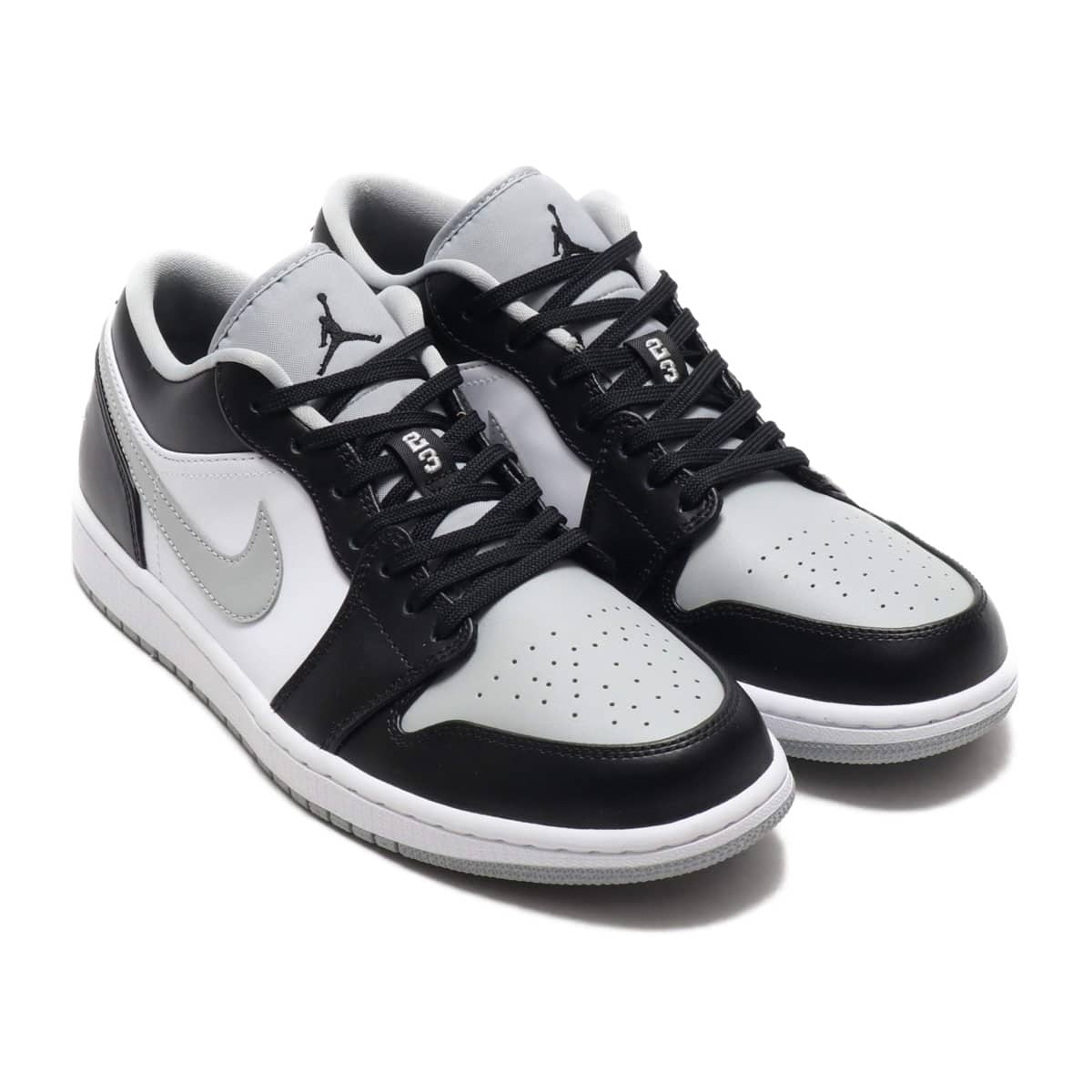 JORDAN BRAND AIR JORDAN 1 LOW BLACK/BLACK-LT SMOKE GREY-WHITE 20SU-S_photo_large