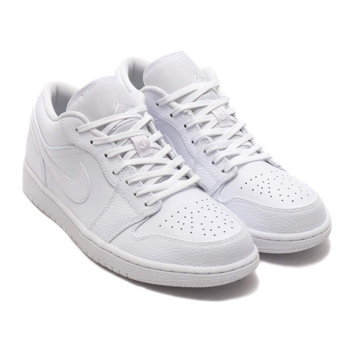 JORDAN BRAND AIR JORDAN 1 LOW WHITE/WHITE-WHITE 20SU-S_photo_large