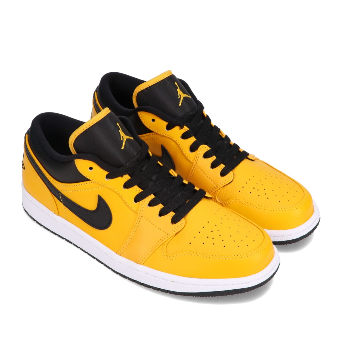 JORDAN BRAND AIR JORDAN 1 LOW UNIVERSITY GOLD/BLACK-WHITE 21SP-I_photo_large
