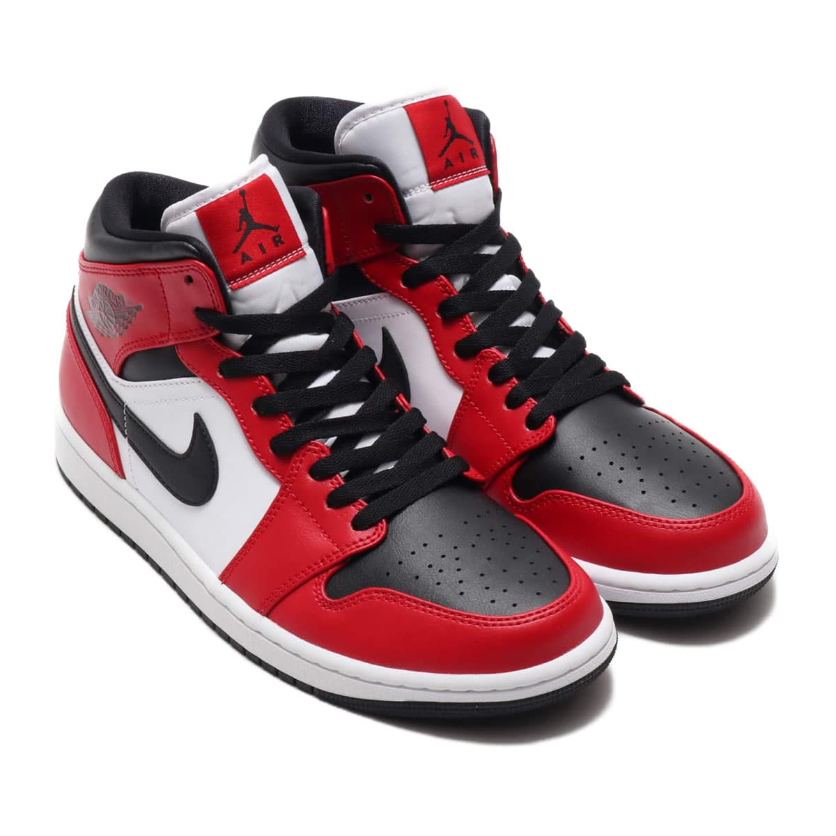 JORDAN BRAND AIR JORDAN 1 MID BLACK/BLACK-GYM RED 20SU-S_photo_large