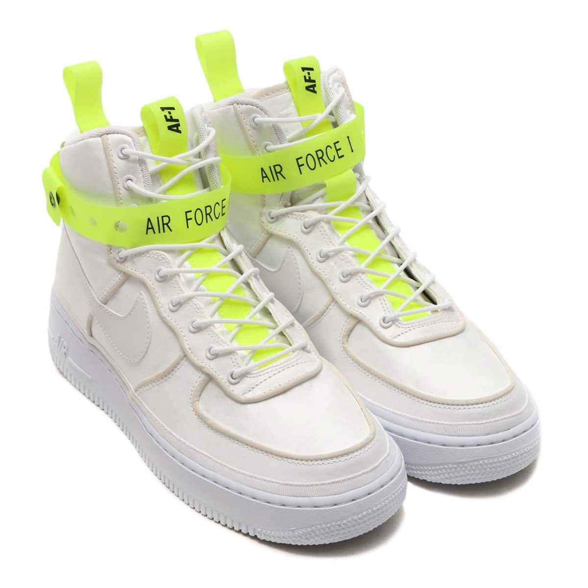 NIKE AIR FORCE 1 HIGH '07 QS  WHITE/WHITE-VOLT-BLACK_photo_large