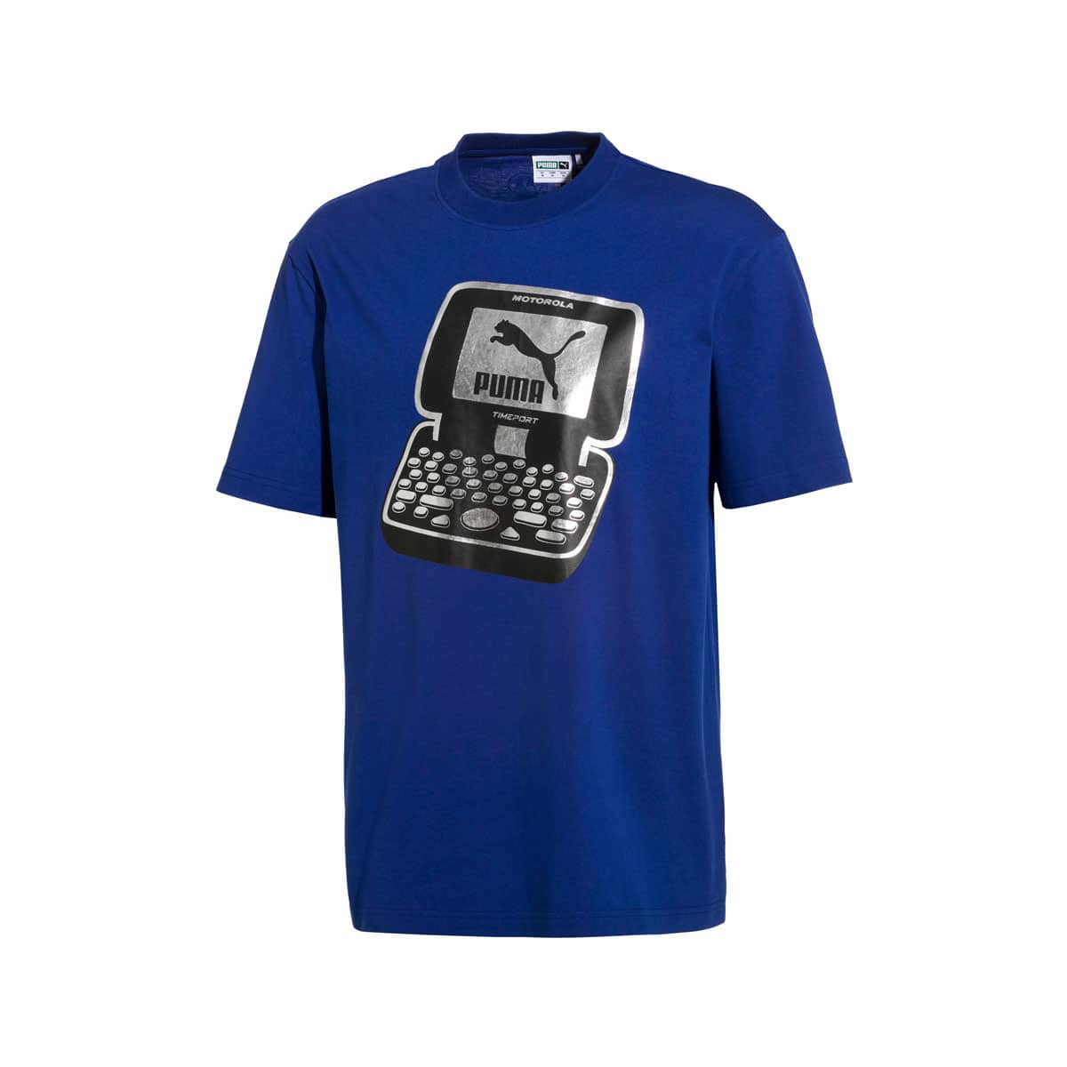 PUMA × MOTOROLA TEE  SOLIDATE BLUE 19SU-S_photo_large