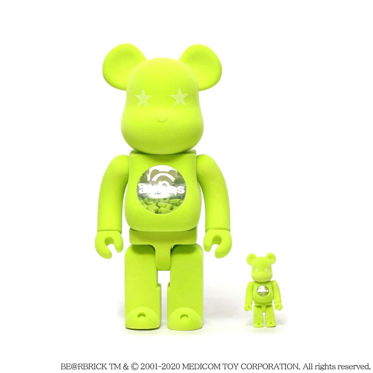 MEDICOM TOY BE@RBRICK atmos x LACOSTE 100% & 400% 20SU-I_photo_large