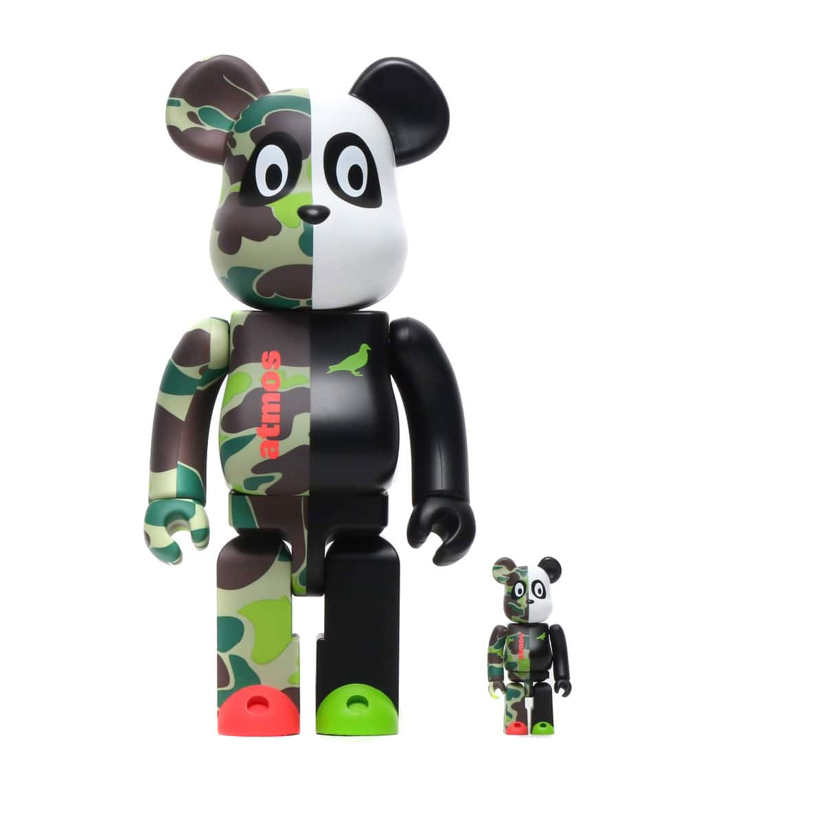 MEDICOM TOY BE@RBRICK atmos x STAPLE #3 100% & 400% 20SU-S_photo_large