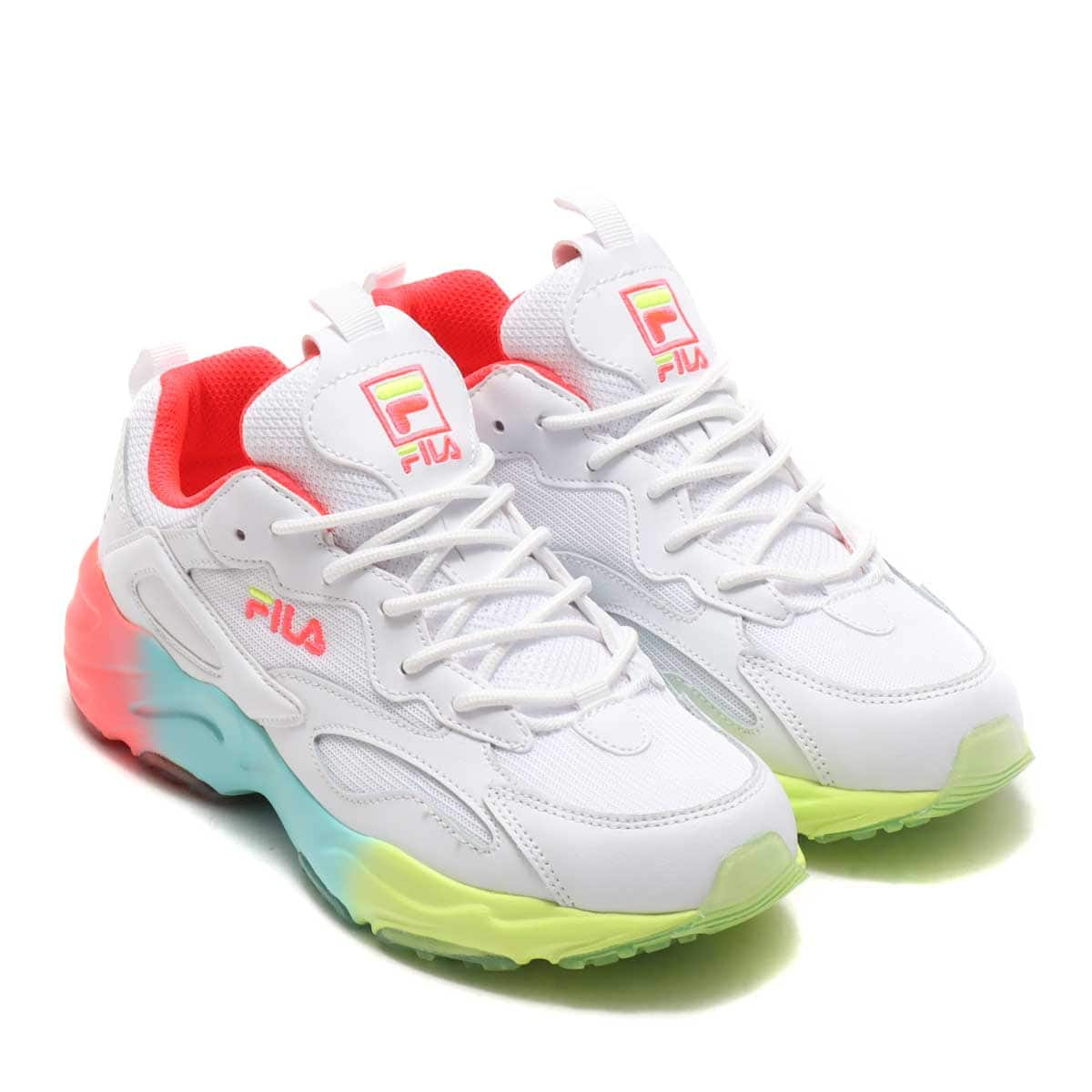 FILA Ray Tracer White / Diva Pink / Safety Yellow 21SS-S_photo_large