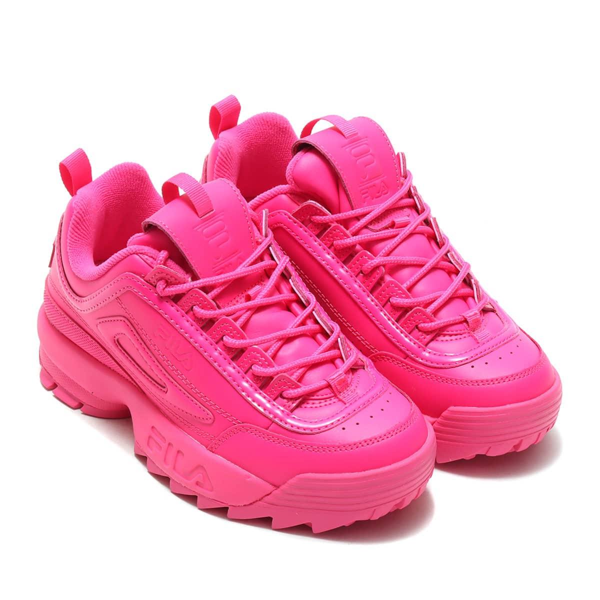 FILA Disruptor II Premium Pink Glo / Pink Glo / Pink Glo 21SS-S_photo_large