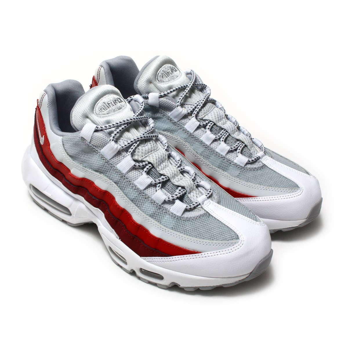NIKE AIR MAX 95 ESSENTIAL  WHITE/WOLF GREY-PURE PLATINUM-TEAM RED_photo_large
