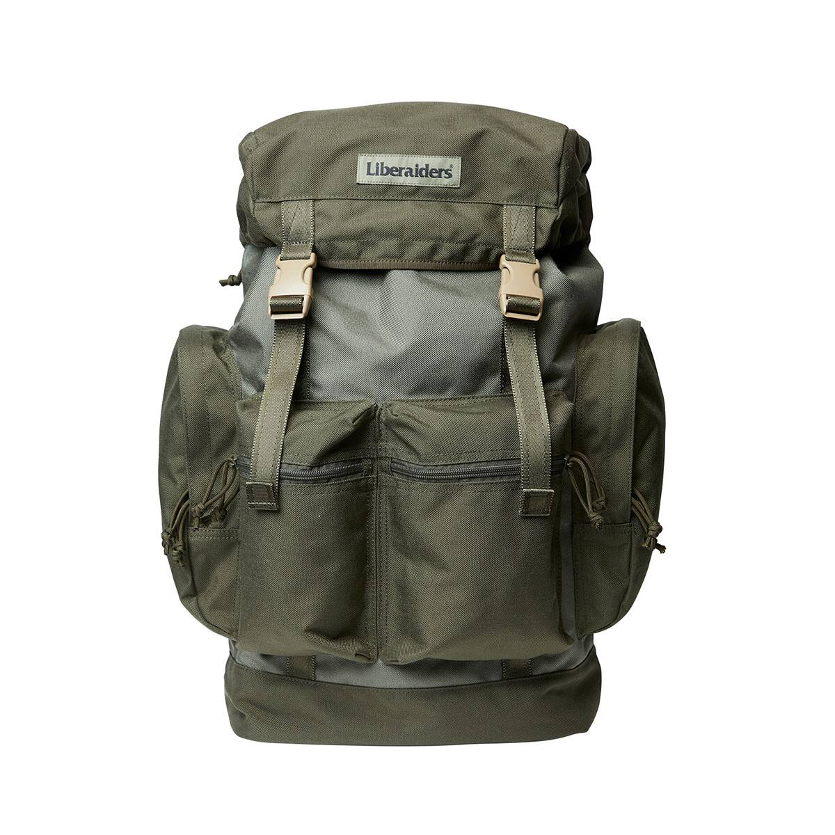 LIBERAIDERS TRAVELIN' SOLDIER BACKPACK OLIVE 20SP-I_photo_large
