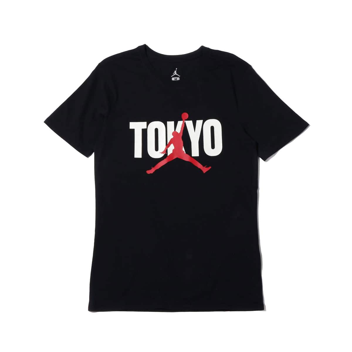 NIKE AS MJ BACK IN TOKYO SS TEE  BLACK/GYM RED 19FA-I_photo_large