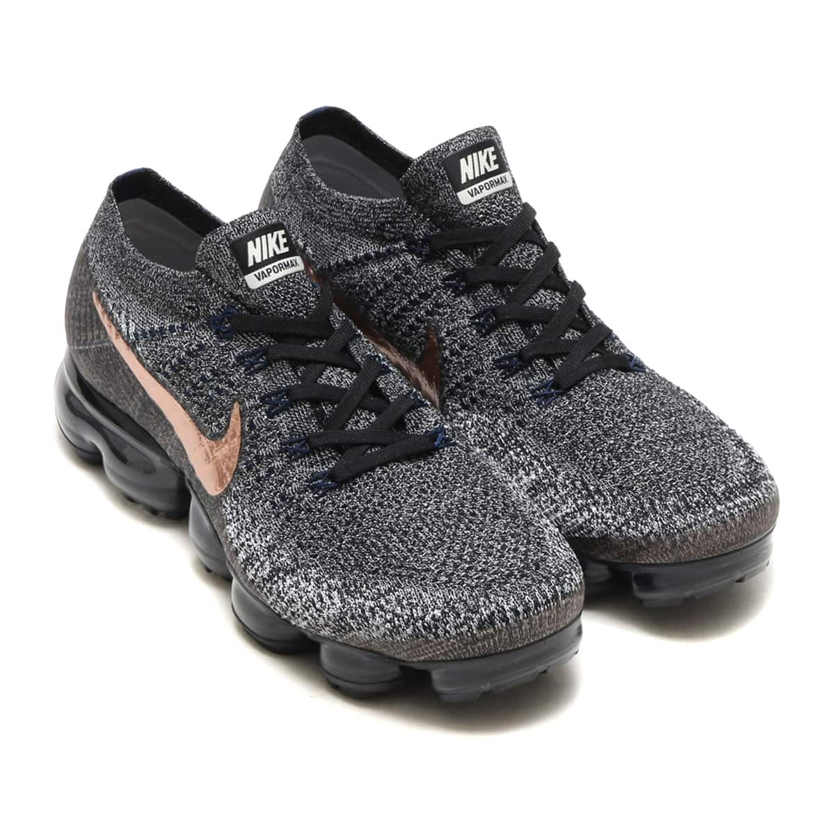 NIKE AIR VAPORMAX FLYKNIT  BLACK/MTLC RED BRONZE-COLLEGE NAVY_photo_large