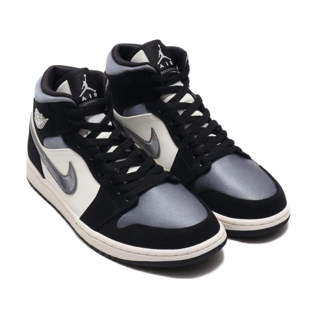 JORDAN BRAND AIR JORDAN 1 MID SE BLACK/SMOKE GREY-SAIL 20SP-S_photo_large