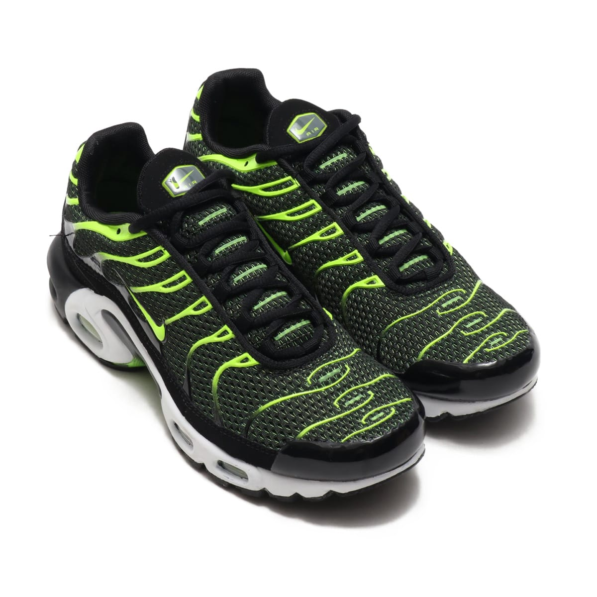 NIKE AIR MAX PLUS BLACK/VOLT-DARK GREY-WHITE 18HO-I_photo_large