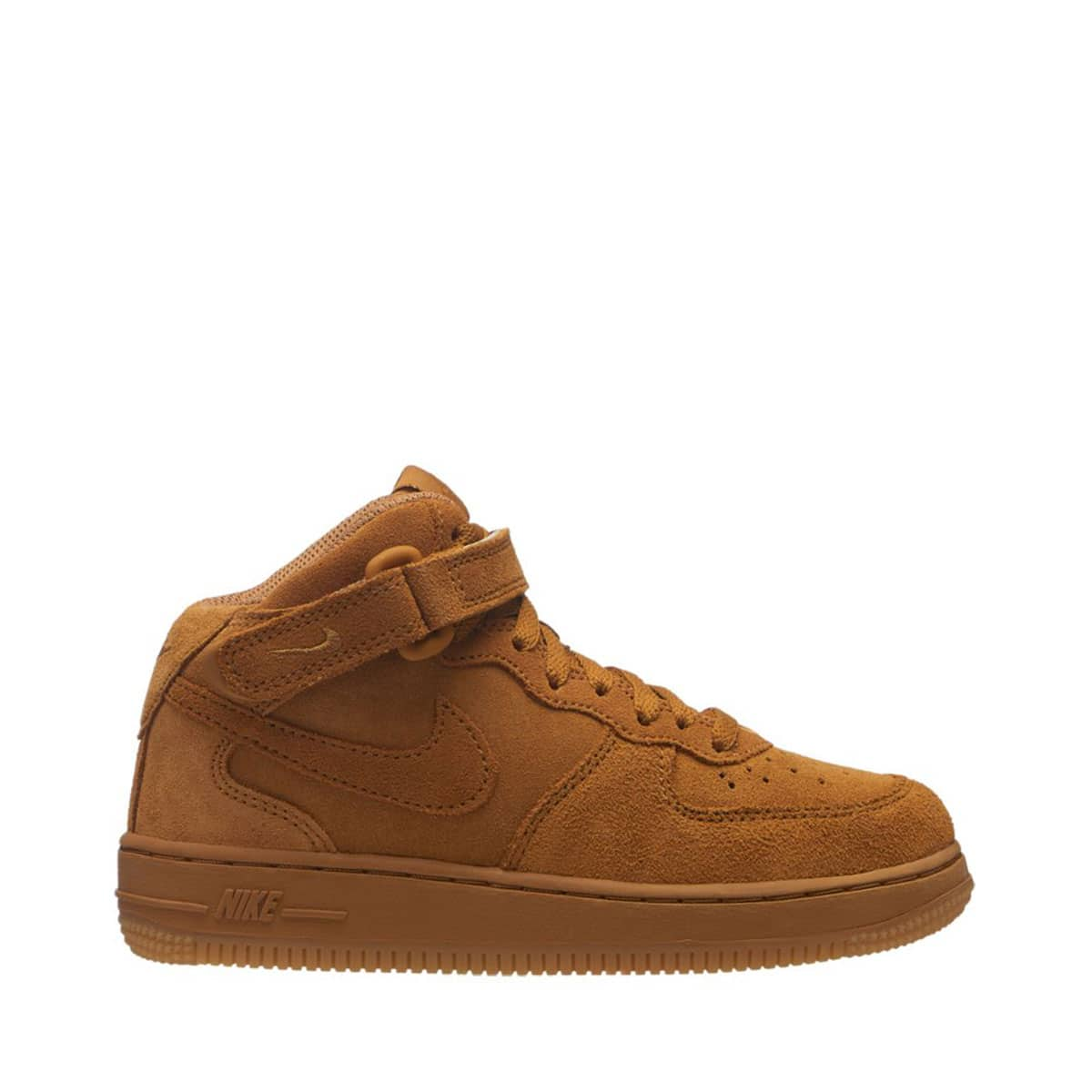 NIKE FORCE 1 MID LV8 (PS) WHEAT/WHEAT-GUM LIGHT BROWN 18HO-I_photo_large