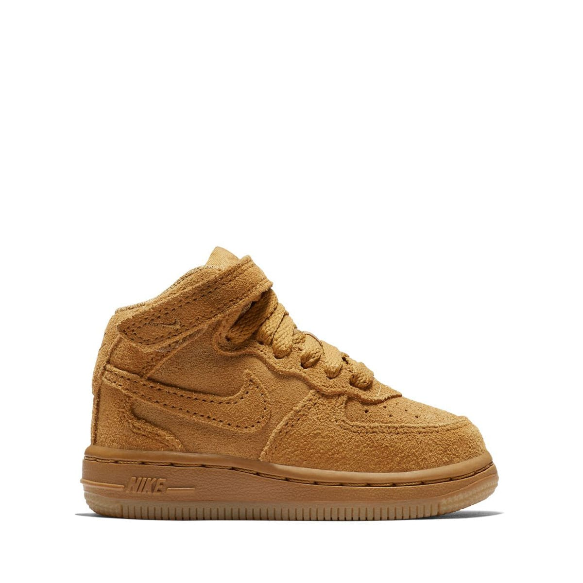 NIKE FORCE 1 MID LV8 (TD) WHEAT/WHEAT-GUM LIGHT BROWN 18HO-I_photo_large