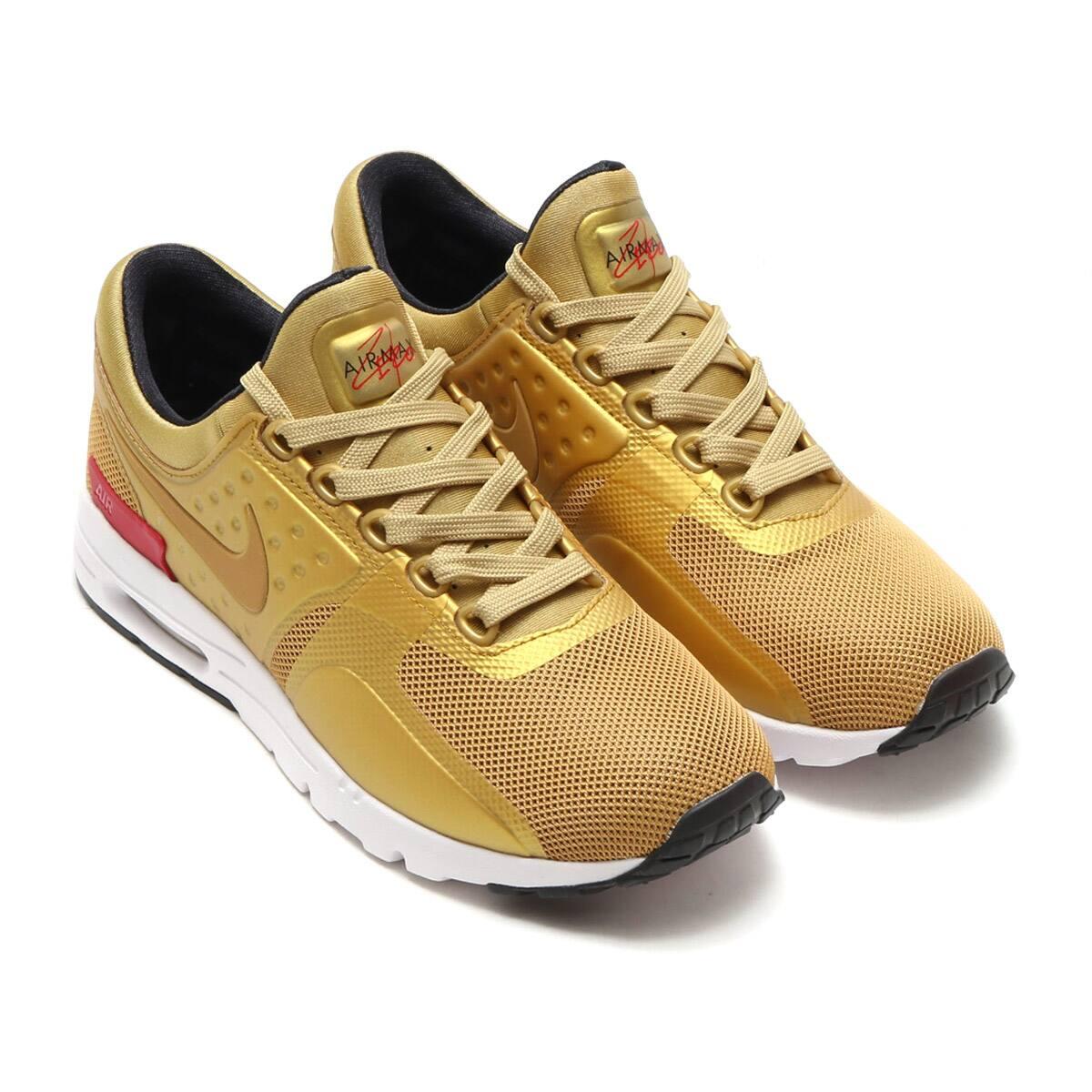 Nike Sportswear Air Max Zero QS Metallic Gold/Varsity Red