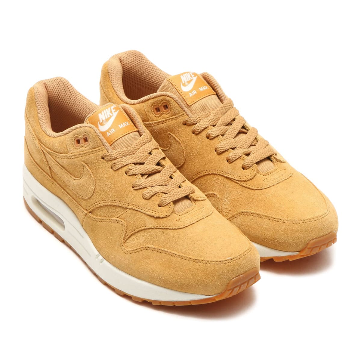 NIKE AIR MAX 1 PREMIUM FLAX/FLAX-SAIL-GUM MED BROWN_photo_large