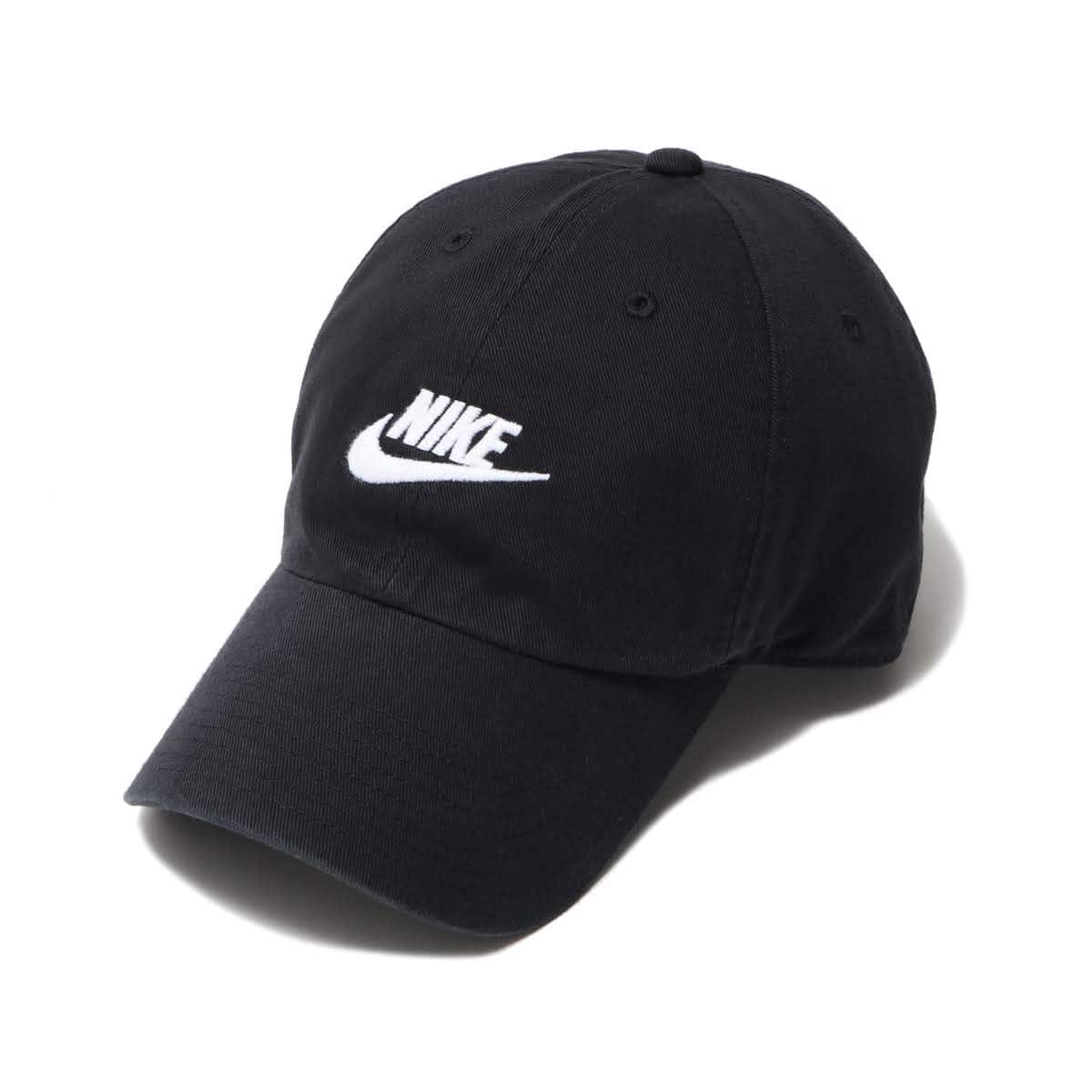 NIKE U NSW H86 CAP FUTURA WASHED BLACK/BLACK/WHITE 19SU-I_photo_large