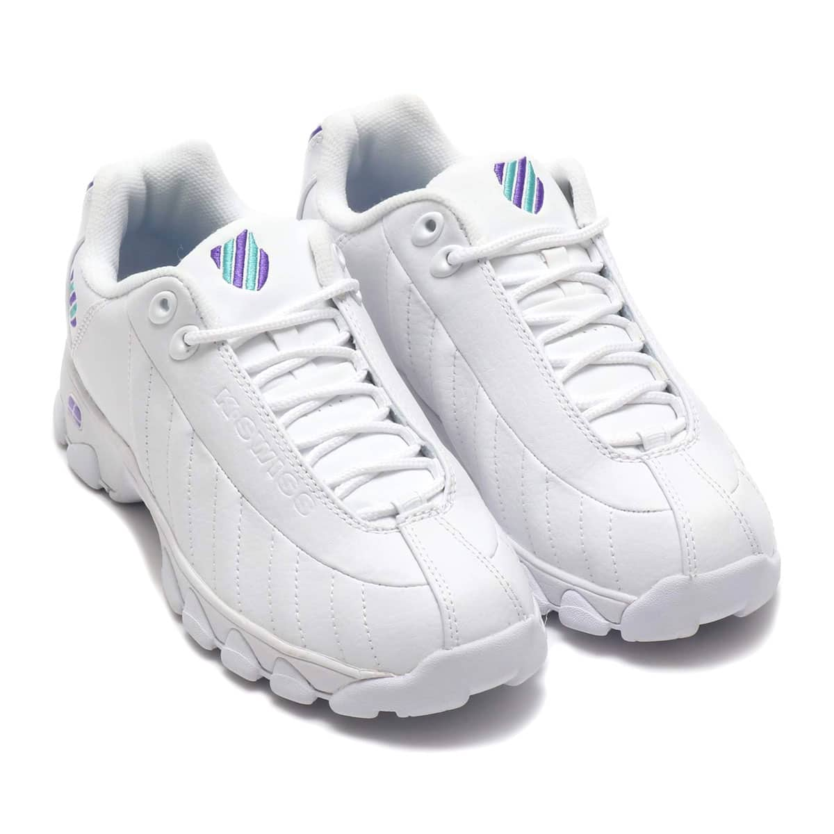 K-SWISS ST329 CMF W WHITE/ULTRA VIOLET/LAGOON 19SU-I_photo_large