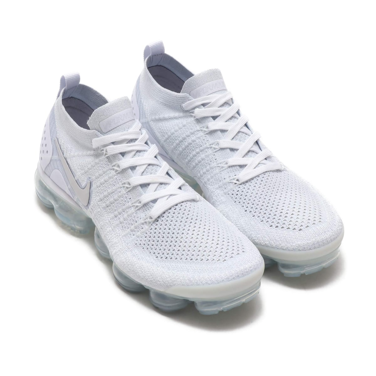 timeless design b9077 6d391 NIKE AIR VAPORMAX FLYKNIT 2 WHITE/WHITE-VAST GREY-FOOTBALL ...