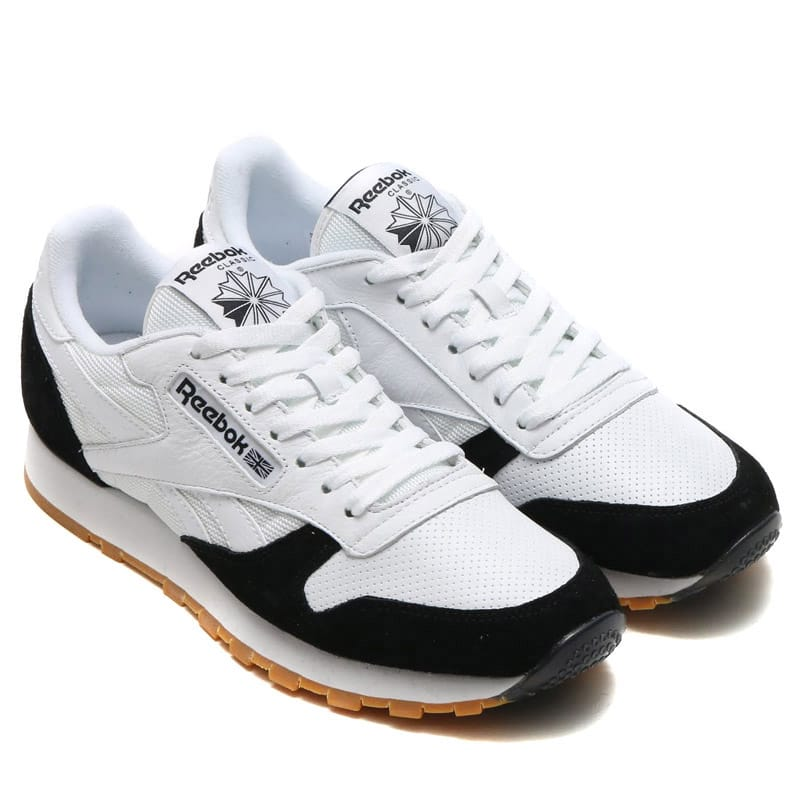 new style 53b65 53a46 Reebok CL LEATHER SPP WHITE WHITE BLACK GUM photo large