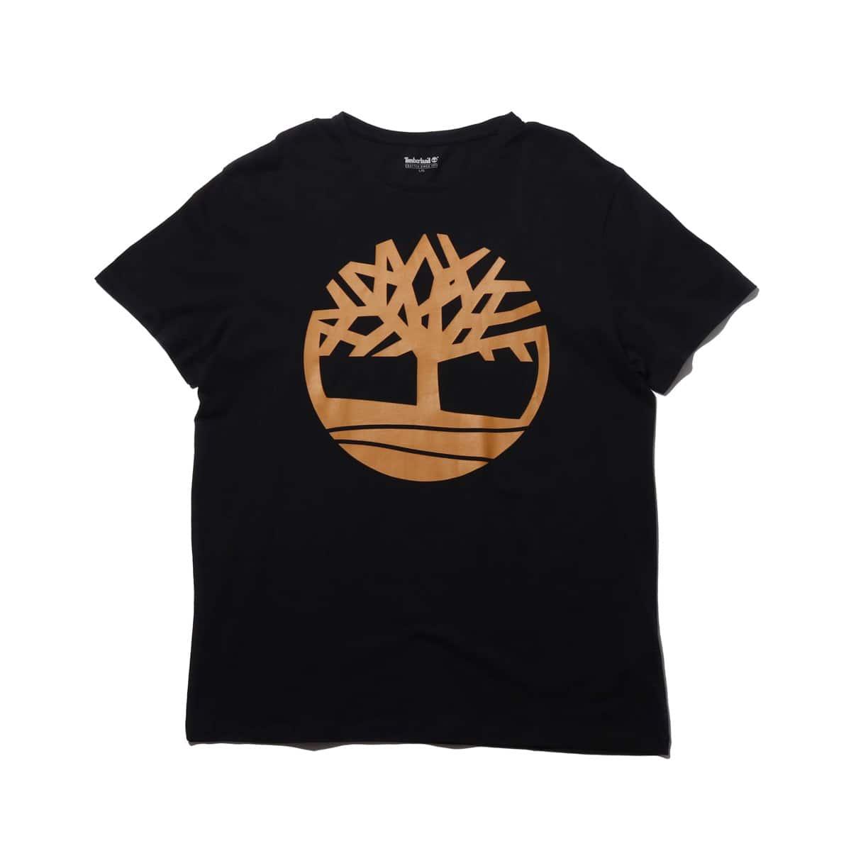 Timberland SLS SS Seasonal logo tee  BLACK 19SS-I_photo_large