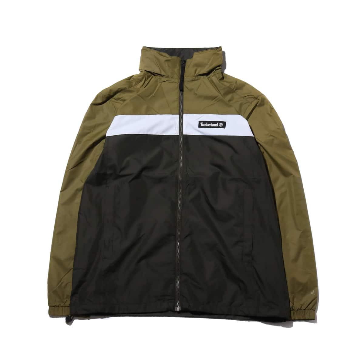 Timberland YCC Hooded full zip jacket  MARTINI OLIVE/PEAT 19SS-I_photo_large