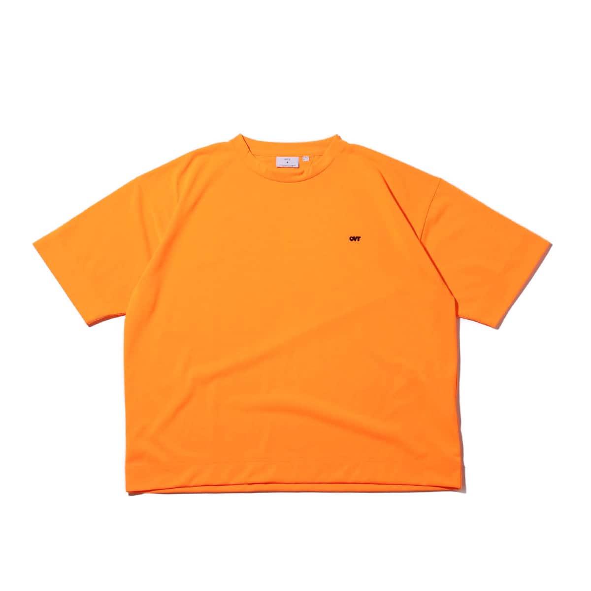CONVERSE TOKYO ワンポイント 刺繍 Tシャツ オレンジ 19SS-I_photo_large