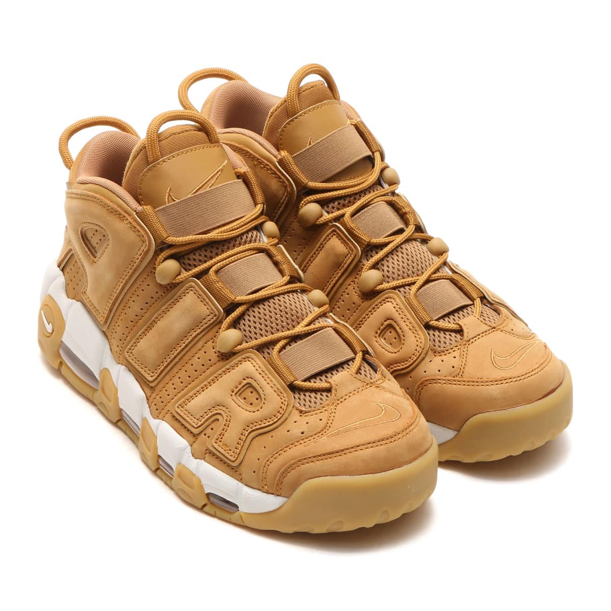 NIKE AIR MORE UPTEMPO '96 PRM FLAX/FLAX-PHANTOM-GUM LIGHT BROWN_photo_large