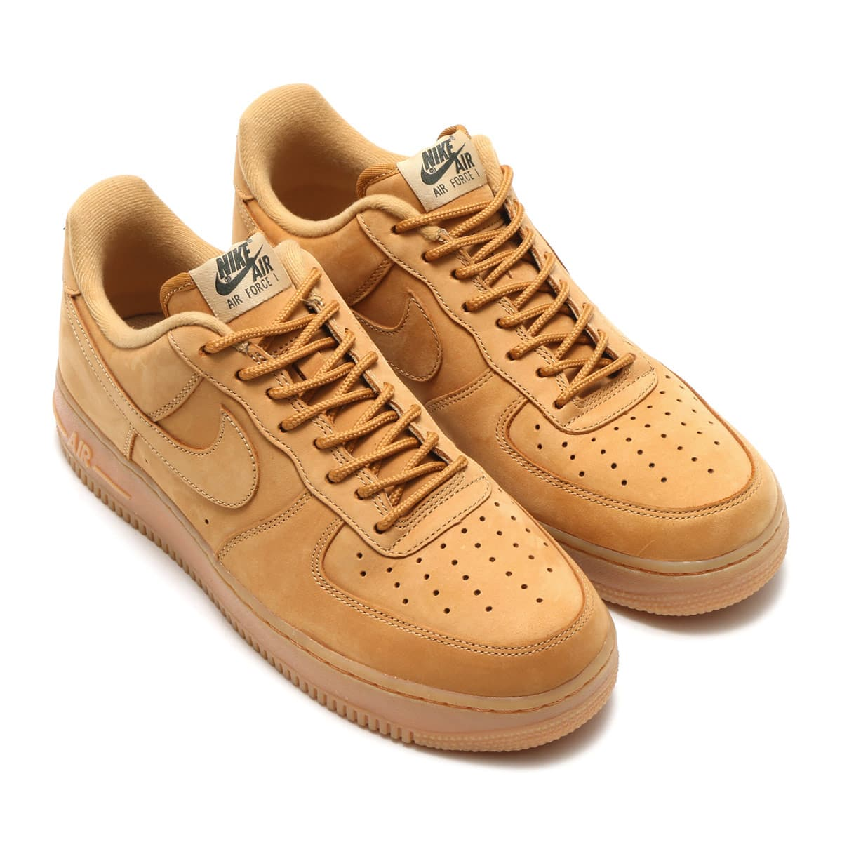 NIKE AIR FORCE 1 '07 WB  FLAX/FLAX-GUM LIGHT BROWN-OUTDOOR GREEN_photo_large