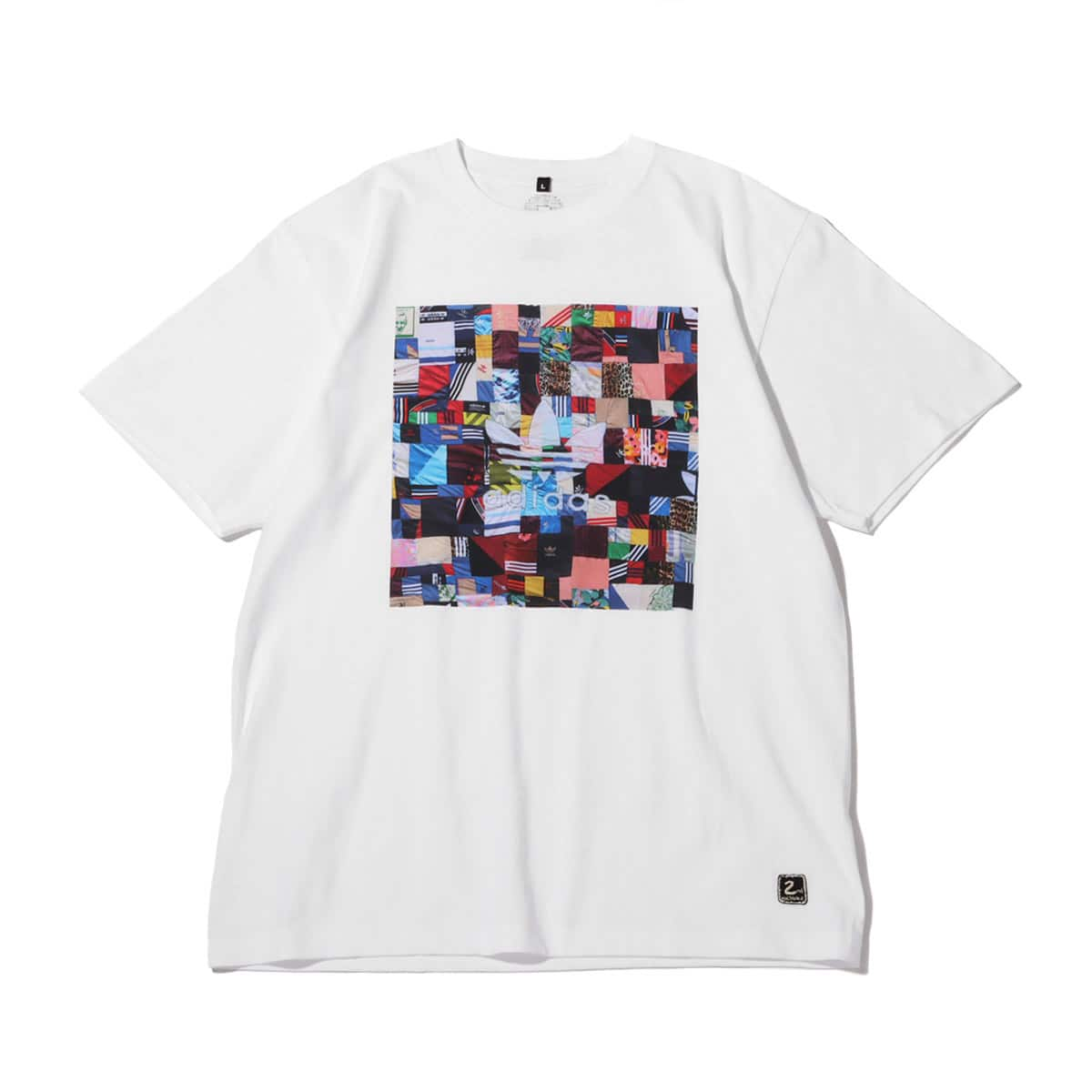 2nd existence PATCHWORK PHOTO TEE WHITE 21SP-I_photo_large