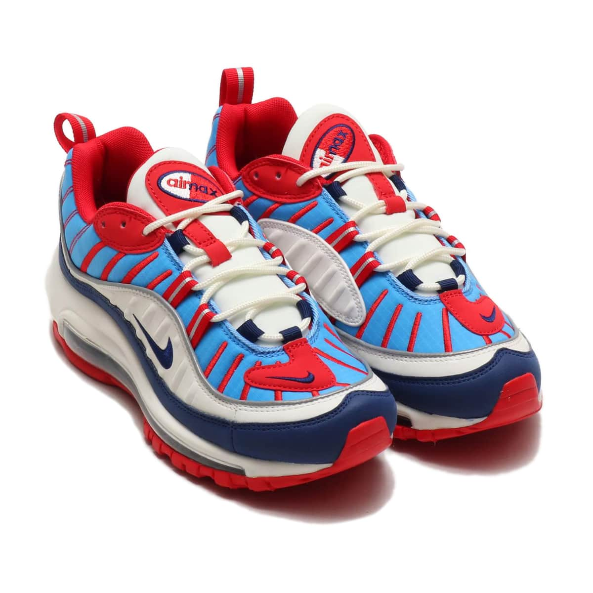 NIKE W AIR MAX 98 SMMT WHT/BL VD-UNV RD-RFLCT SL 19SU-I_photo_large