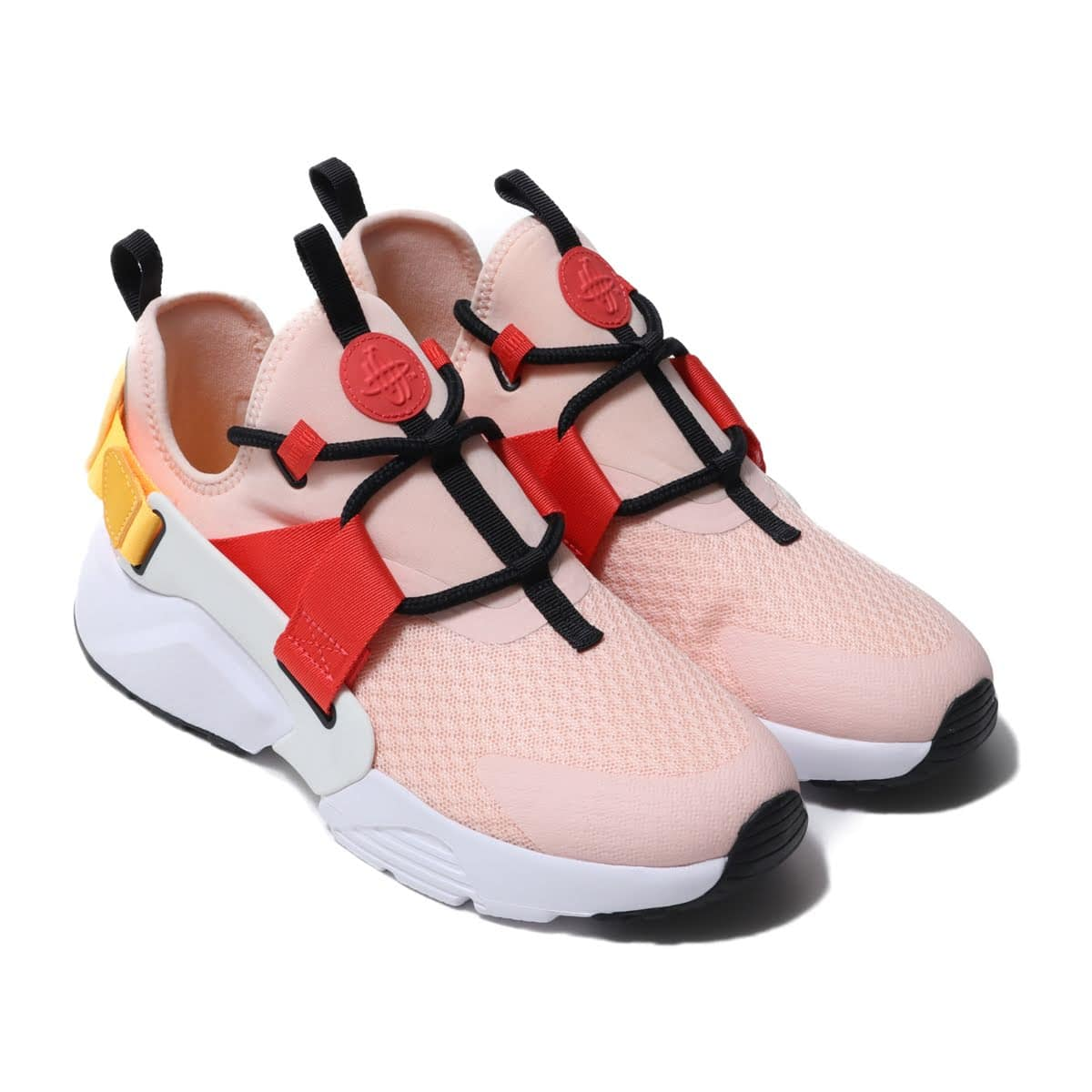 new arrivals 31425 49e12 NIKE W AIR HUARACHE CITY LOW WSHD CRL SMMT WHT-LSR ORNG-EMB 19SU-I