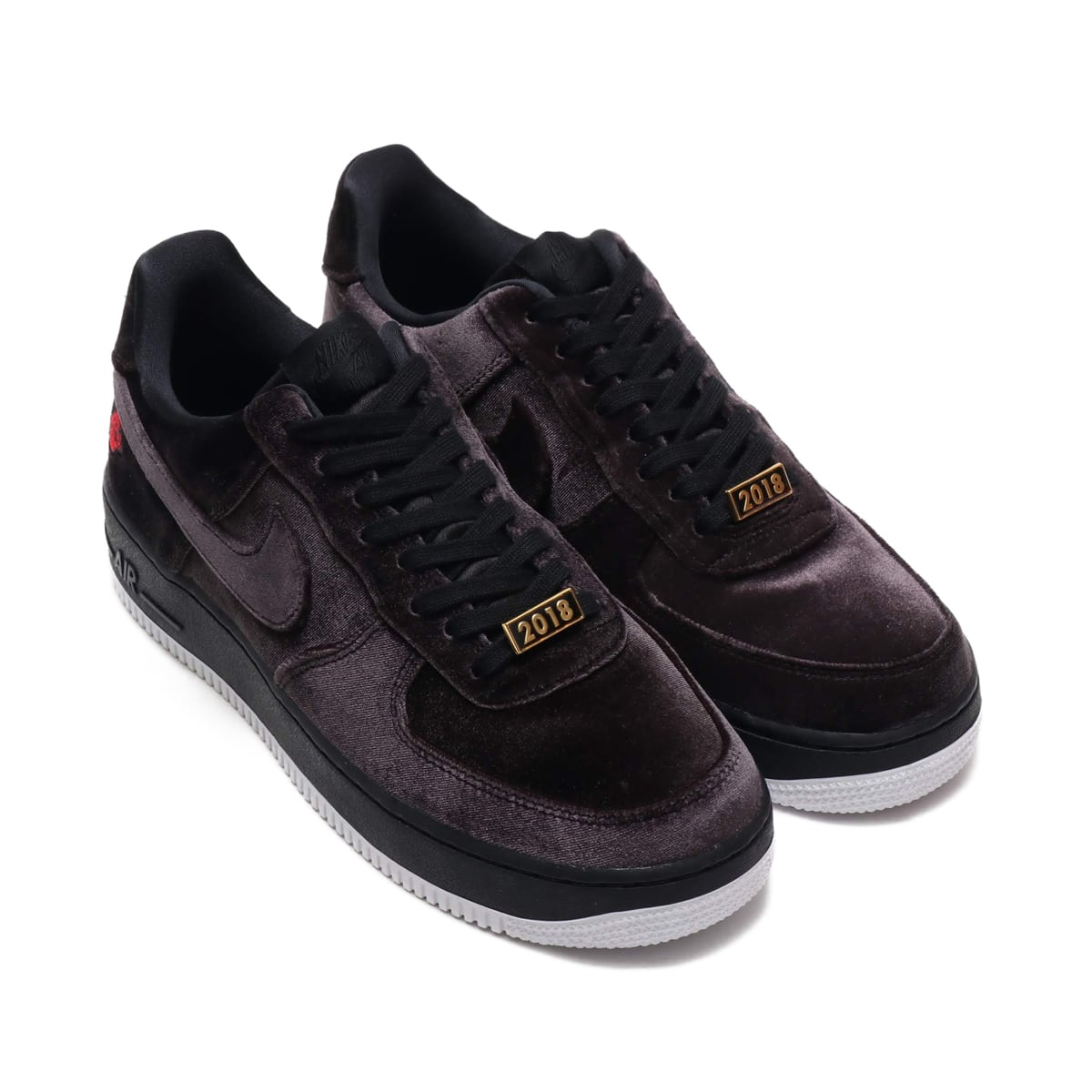 NIKE AIR FORCE 1 '07 QS  BLACK/BLACK-WHITE_photo_large