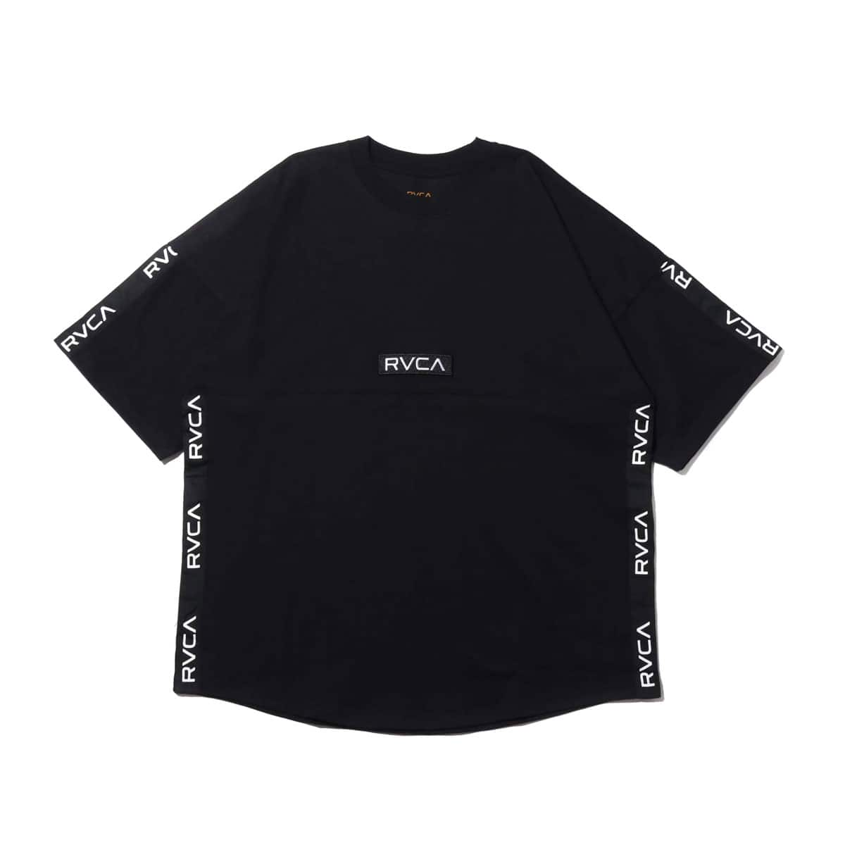 RVCA ARCH RVCA TAPE S/S BLACK 19FA-I_photo_large