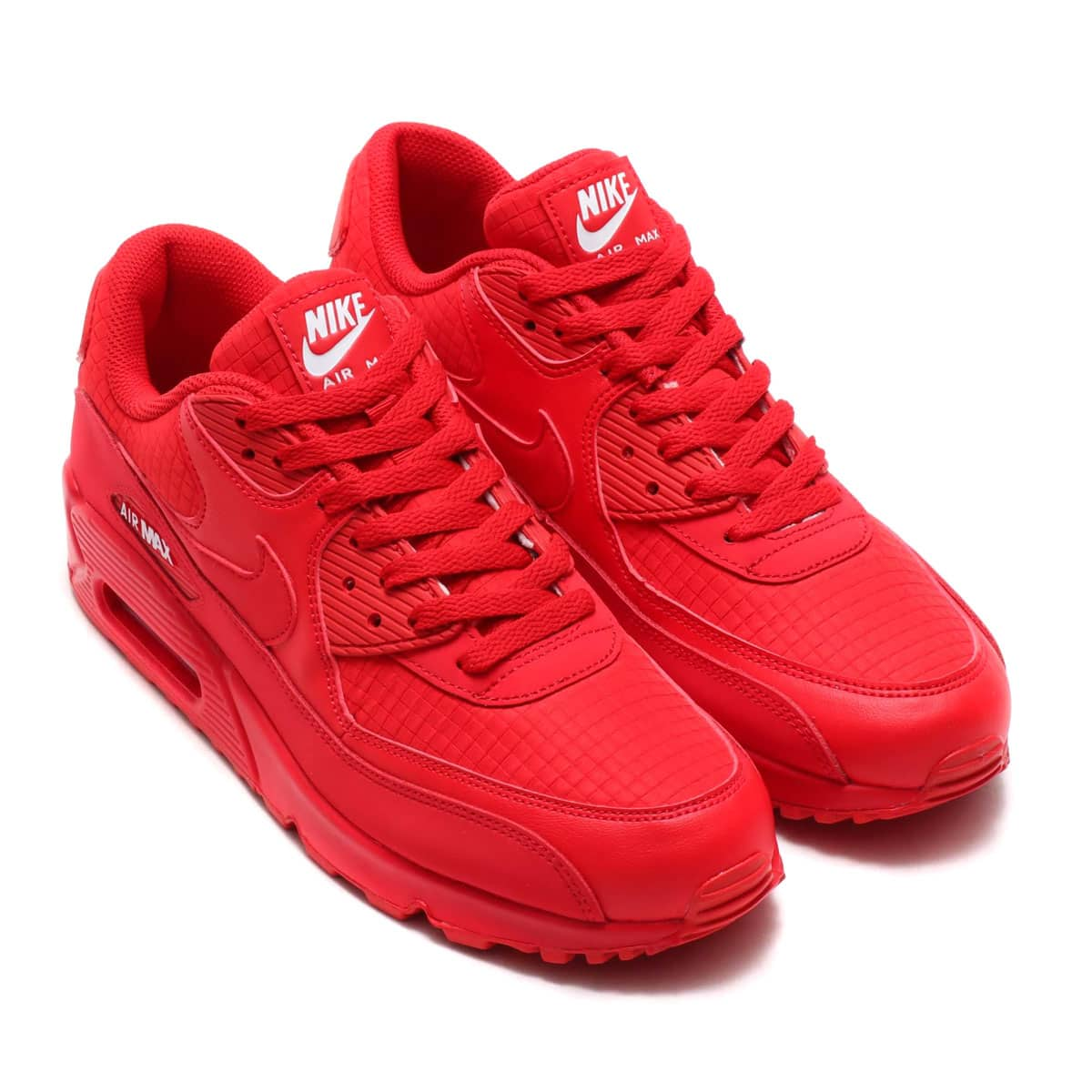 NIKE AIR MAX 90 ESSENTIAL UNIVERSITY REDWHITE 19SU I