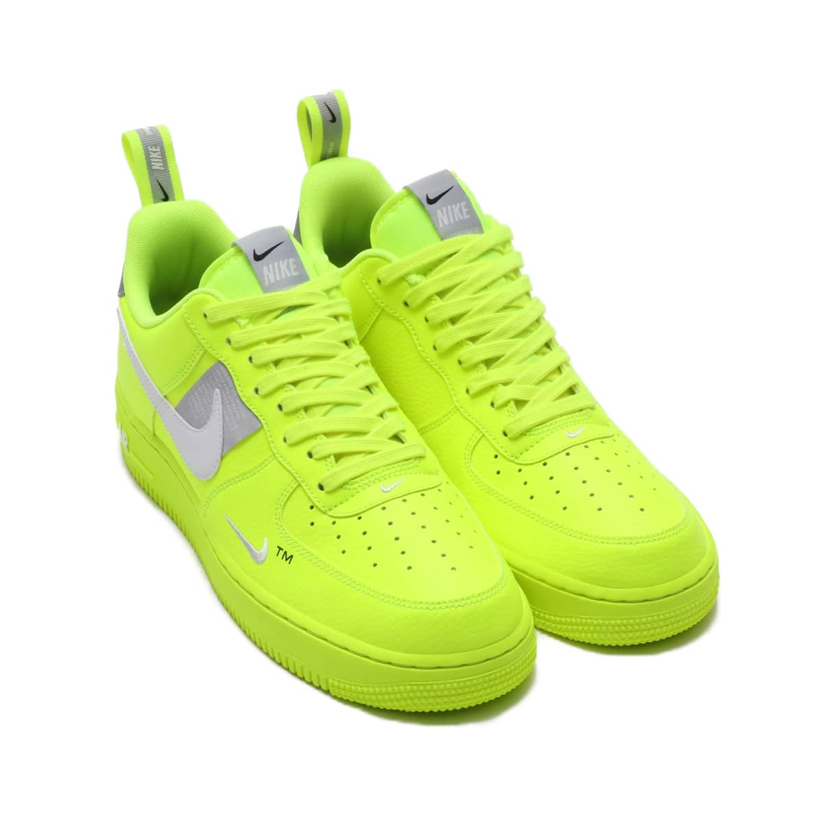 NIKE AIR FORCE 1 '07 LV8 UTILITY  VOLT/WHITE-BLACK-WOLF GREY 18HO-I_photo_large